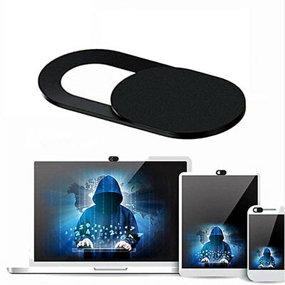 Mobile Phone Tablet Laptop Webcam Cover Privacy Sticker Anti-Hacker Black