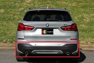 New Genuine Bmw F48 M Sport Rear Bumper Diffuser With Double Exhaust And Pdc