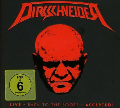 DIRKSCHNEIDER  Live Back To The Roots Accepted! 2 x CD + DVD Digipak