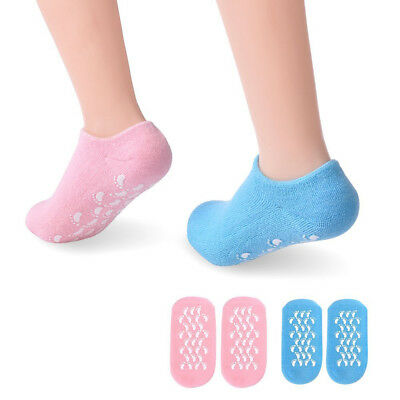 Moisturizing Gel Ultra-Soft Socks Spa Helps Repair Dry Cracked Skins Soften Feet