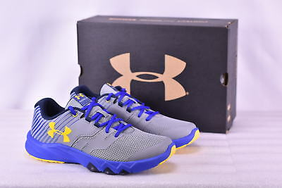 Boy's Under Armour  1296252035 Primed 2 Running Shoes Steel