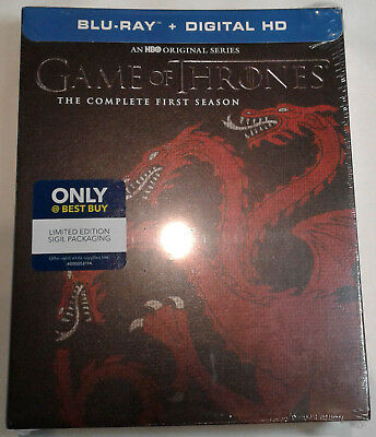 GAME OF THRONES Complete First Season SEALED Blu-Ray BEST BUY Targaryen 1 1st