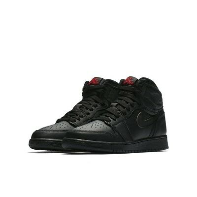 Youth (GS) Air Jordan 1 Retro High OG Black/University Red 575441-022