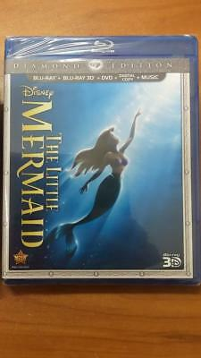 Case of 30 -Disney's The Little Mermaid (Blu-ray 2D/3D/DVD/Digital) with SLEEVE
