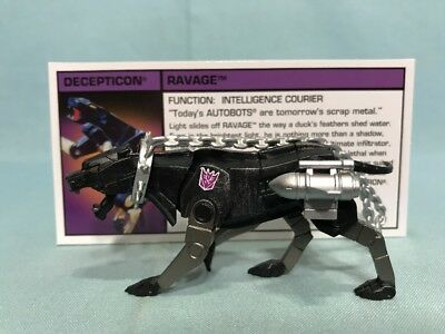 G.I. Joe And The Transformers 2013 SDCC Exclusive Decepticon Ravage