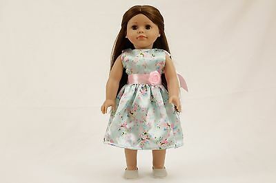 """2 18"""" Modern Doll Brown Case Clothes American Girl Our Generation Journey Girl"""