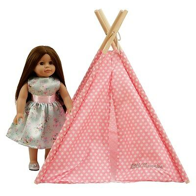 """Modern Doll Teepee Toy American Girl Our Generation Journey Girl 18"""" Doll"""