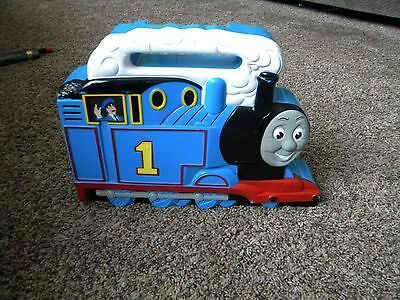 Lot of 15 Thomas and Friends Train Set in Carry Case TANK ENGINE