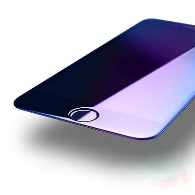 3D Full Coverage Blue Ray Tempered Glass Screen Protector For iphone 6 6s 7 8 8+