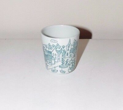 Nymolle Art Faience Hoyrup Limited Edition 4006 Small Cup Danish Seaport Village