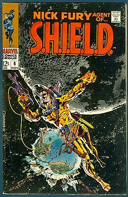 Nick Fury, Agent of Shield #6 in FN.
