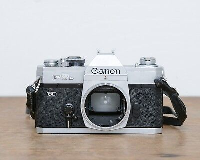 Canon FTb 35mm SLR Film Camera, Excellent Condition, Tested 100% FD Mount, 2453