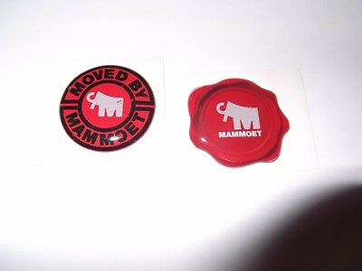 Oilfield Manitowoc Mammoet Crane Hardhat stickers Union Iron Worker Mining 2