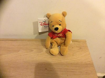 DIsney Beanies POOH Disney Store Mint With Tag