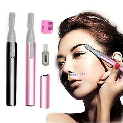Girl Lady Electric Shaver Bikini Legs Eyebrow Trimme Shaper Hair Remover Gift Mt