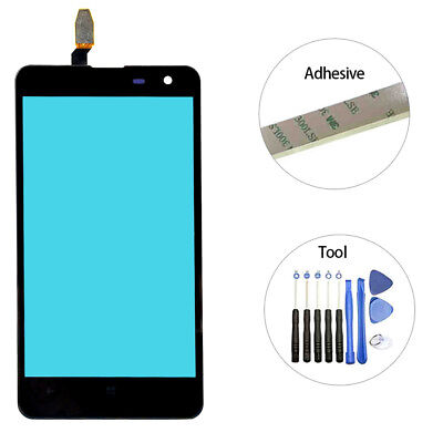 For Nokia Lumia 625 Touch Screen Glass Digitizer Panel + Tool w/ Adhesive 4.7""