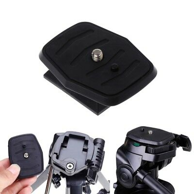 Quick Release Plate Universal QB-4W Tripod Screw Adapter For YUNTENG Velbon Sony