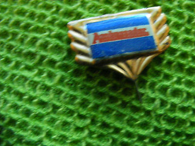 AMBASSADOR motorcycle very old lapel,hat pin badge(A)