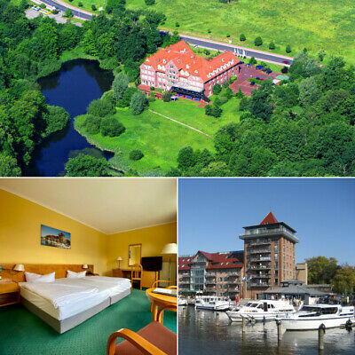 Kurzreise Mecklenburgische Seenplatte 3-6 Tage + Halbpension 4★ Hotel Royal Inn