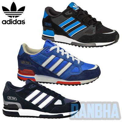 Adidas Originals 2017 ZX 750 Trainers Sports Gym Running Casual Shoes Brand New
