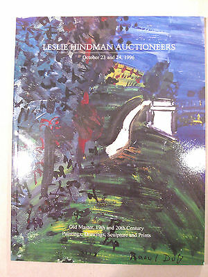 Leslie Hindman Auction (Chicago) Catalog - October 23-24, 1996