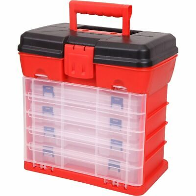 Toolpro Plastic Organiser - 19 Compartment x 4pk tower