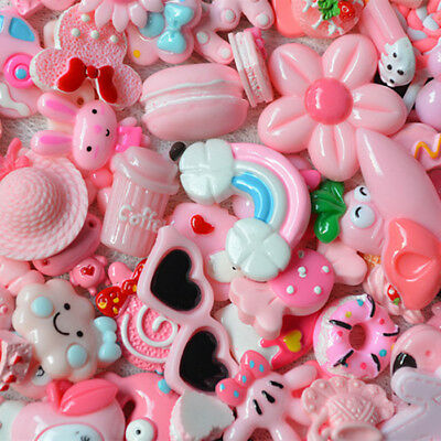 10Pcs& Pink Blessing bag Squishy Charms Squeeze Slow Rising Toy Collection Gifts