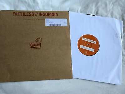 Faithless insomnia 12 record vinyl single house music for Insomnia house music