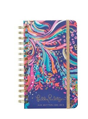 Lilly Pulitzer 17 Month Medium Agenda 2017-2018 Beach Loot
