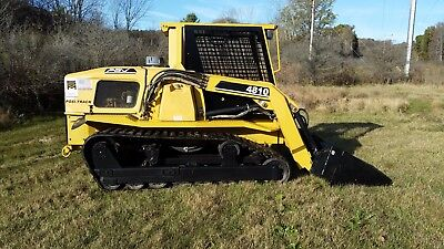 ASV Posi Track 4810 Skid Steer Loader - Enclosed Cab & Heat!