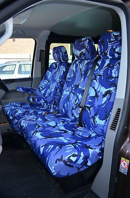 HD WATERPROOF SINGLE BLACK SEAT COVER for TOYOTA HI-ACE 83-ON