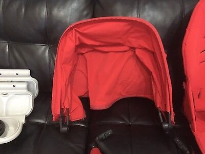 Orbit G2 canopy cover Ruby Red