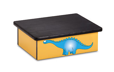 "Pediatric Step Stool 16""W x 20""L x 7""H Dino Theme 1 ea"
