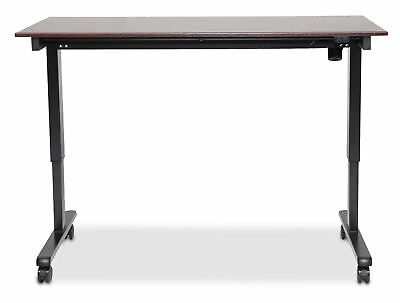 "Electric Stand Up Desk 60""W Stand Up Desk, Electric , 60"", Black Frame, Dark ..."