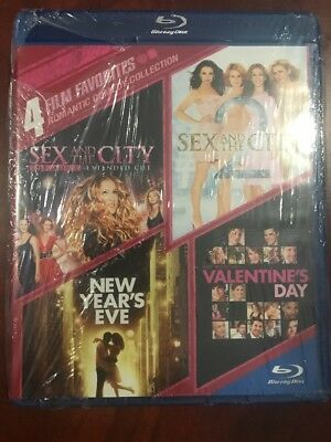 Romantic Comedy Collection: 4 Film Favorites Blu-ray 2014 4-Disc Set Seealed
