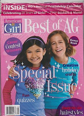 AMERICAN GIRL MAGAZINE 2014,SEALED INCLUDE AG's CALENDAR,STICKERS & MORE