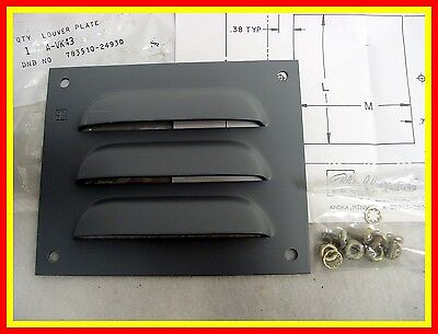 """A-VK43 HOFFMAN LOUVER PLATE KIT 5.5"""" x 4.5"""" AVK43 **NEW FACTORY SEALED PACKAGE**"""