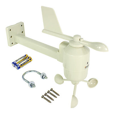 Oregon Scientific WGR800 Anemometer with mounting arm