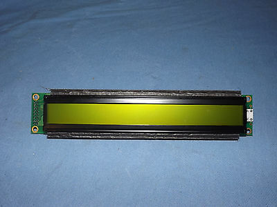 EIO ValuePro 40x2 2x40 Yellow/Green Character Display UMSH-3077JD-YG LCD 16A082