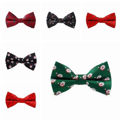 Christmas Adjustable Lovely Festival Men Bowtie Necktie Bow Tie Novelty Gift new