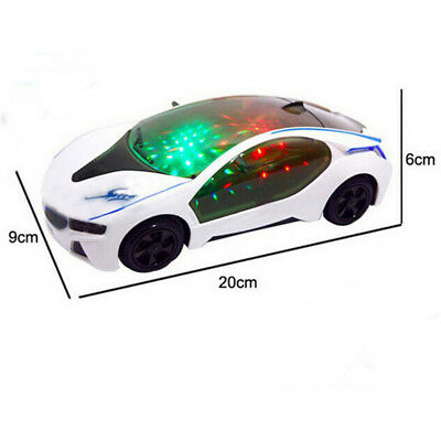 Electronics Car Model Magic Track Flashing Lights Educational Toys for Children