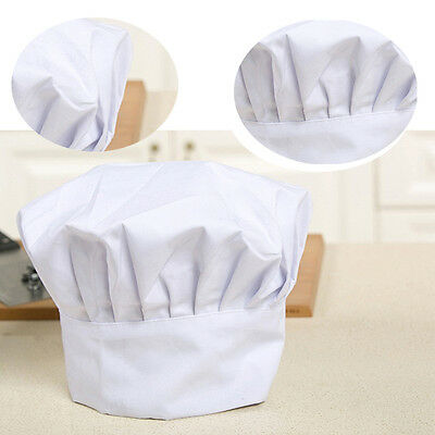 Adjustable pastry Kitchen Cooking Chef Works Uniforms Chef Hat White
