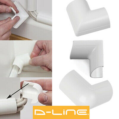 D Line Accessories Trunking/Cover Sticky Back For Cable Wire Hiding All Colours