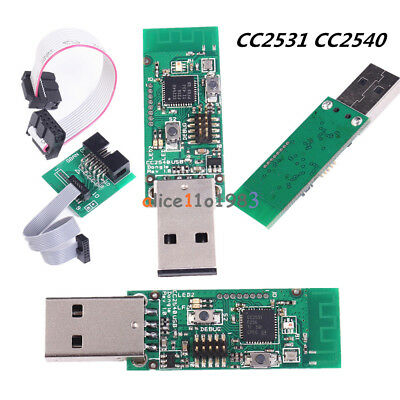 CC2531 CC2540 Sniffer Protocol Analyzer USB Dongle&BTool + Downloader for Zigbee