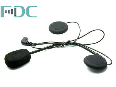 Original FDC Hard Cable Mic Microphone Headphone Headset For FDC/TCOMVB/COLO/G0