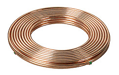 10mm Copper Pipe Plumbing Tube 25m Coil