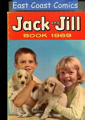 Jack And Jill Annual 1969 - Very Fine