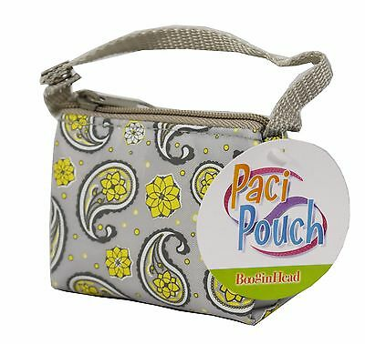 Paci Pouch By BooginHead No More Dirty Pacifiers Keep Them Clean and Close By
