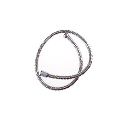 Pop 1m Stainless Steel Flexible Chrome Shower Hose Bathroom Heater Water Pipe UK