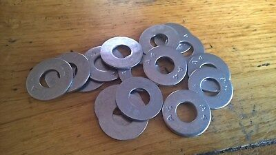 REPAIR WASHERS A4 MARINE GRADE STAINLESS STEEL M8 x 20MM MUDGUARD PENNY PANEL